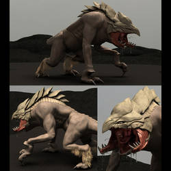 Davi Blight's King of Predators Creature Model by harveyhesko