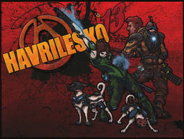 Havrilesko: Borderlands (Themed Family Portrait)