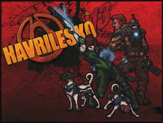 Havrilesko: Borderlands (Themed Family Portrait) by harveyhesko