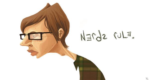 nerds rule. by kakakairu