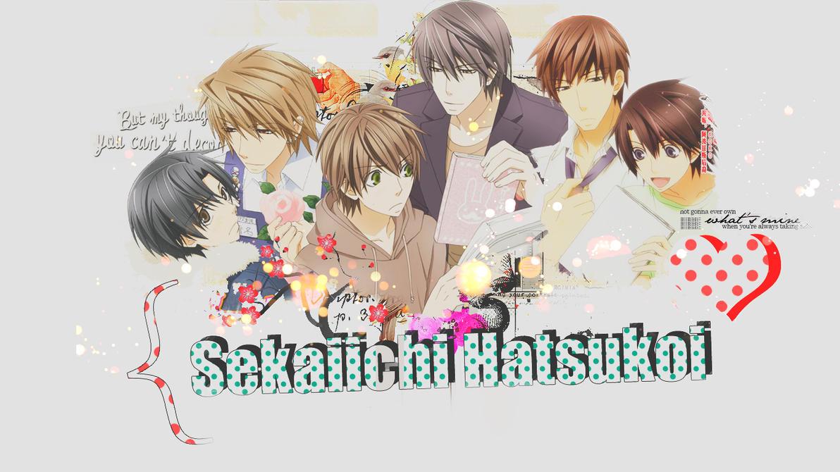 sekaiichi hatsukoi wall by zhini69 d4sw1tf - Yaoi Anime Önerileri - Top 20 - Figurex Anime Önerileri