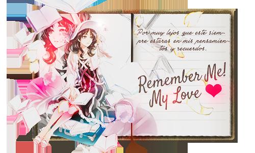 Remember me! by Zhini69