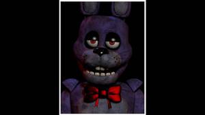 Stylized Bonnie The Bunny Mugshot