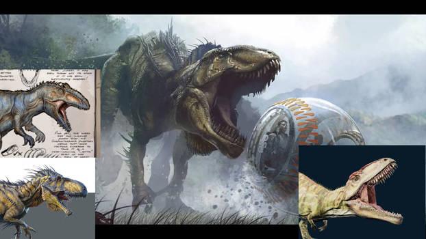 Tyrant The Diabolus Rex (RP Dinosaur)