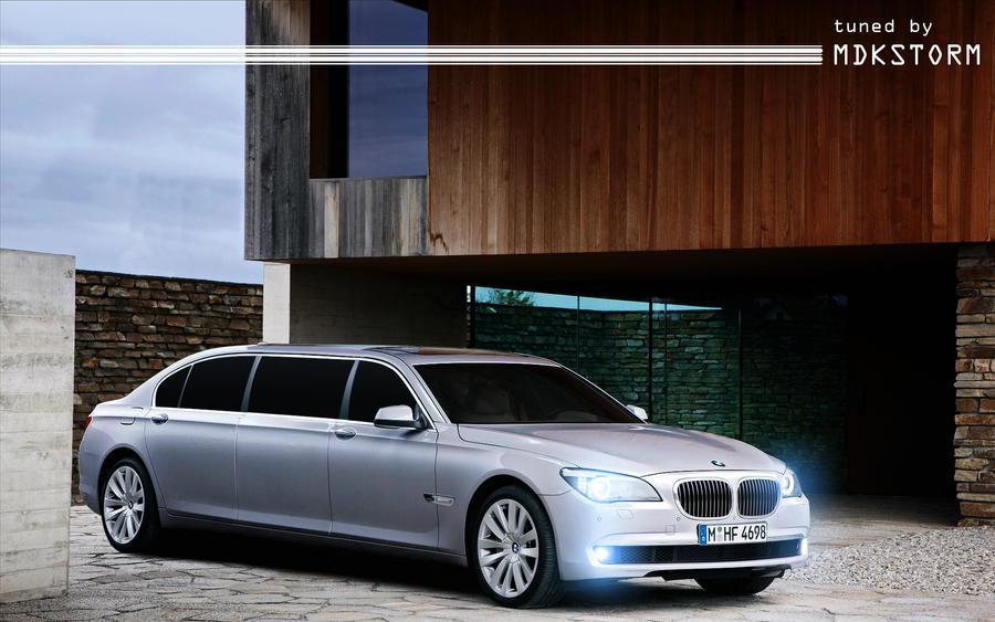 bmw 760i limousine by mdkstorm on deviantart. Black Bedroom Furniture Sets. Home Design Ideas