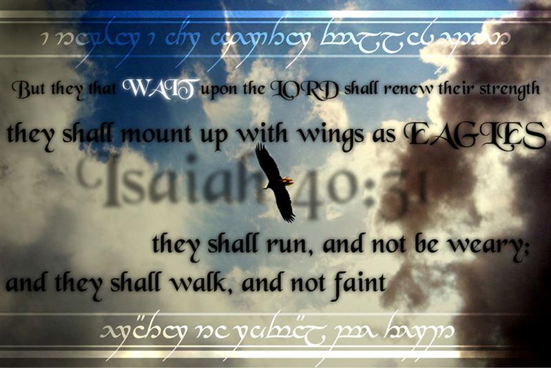 Isaiah 40 31 Isaiah 40 31 by Biojoe