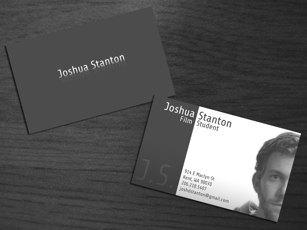 Business Card For My Brother