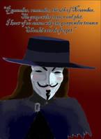 V for Vendetta - Nov. 5 by ObsidianPyre