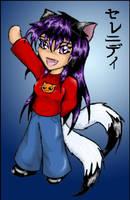 Chibi catgirlSerenity-chan by ObsidianPyre