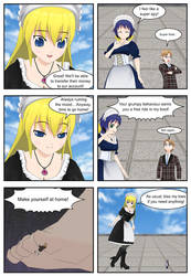 (Giantess) Maid Vs StepMom Page 5 by AngryGiantess
