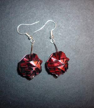 Origami Earrings: Modular