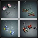 Origami Earrings : New Batch