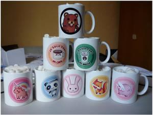 Pandaka Mugs!