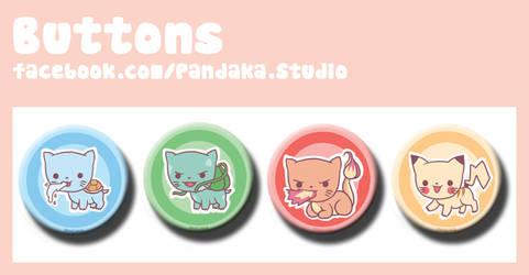 00 Pandaka buttons pkmn  meow edition