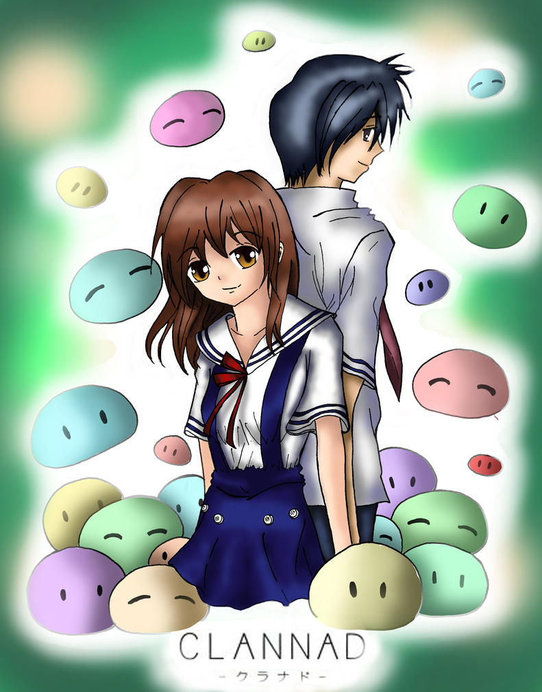 Clannad: Nagisa and Tomoya by ylismd2013 on DeviantArt