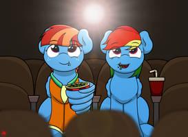 Movie Night by Ljdamz1119