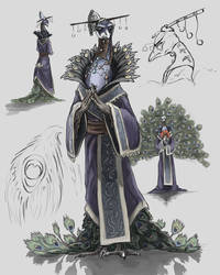 Peacock lord concept