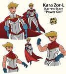 Power Girl Redesign