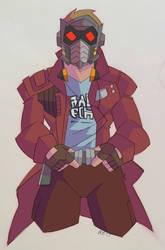 Star-Lord by GeekyAnimator