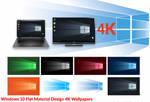 Windows 10 Material Design Based 4K Wallpapers