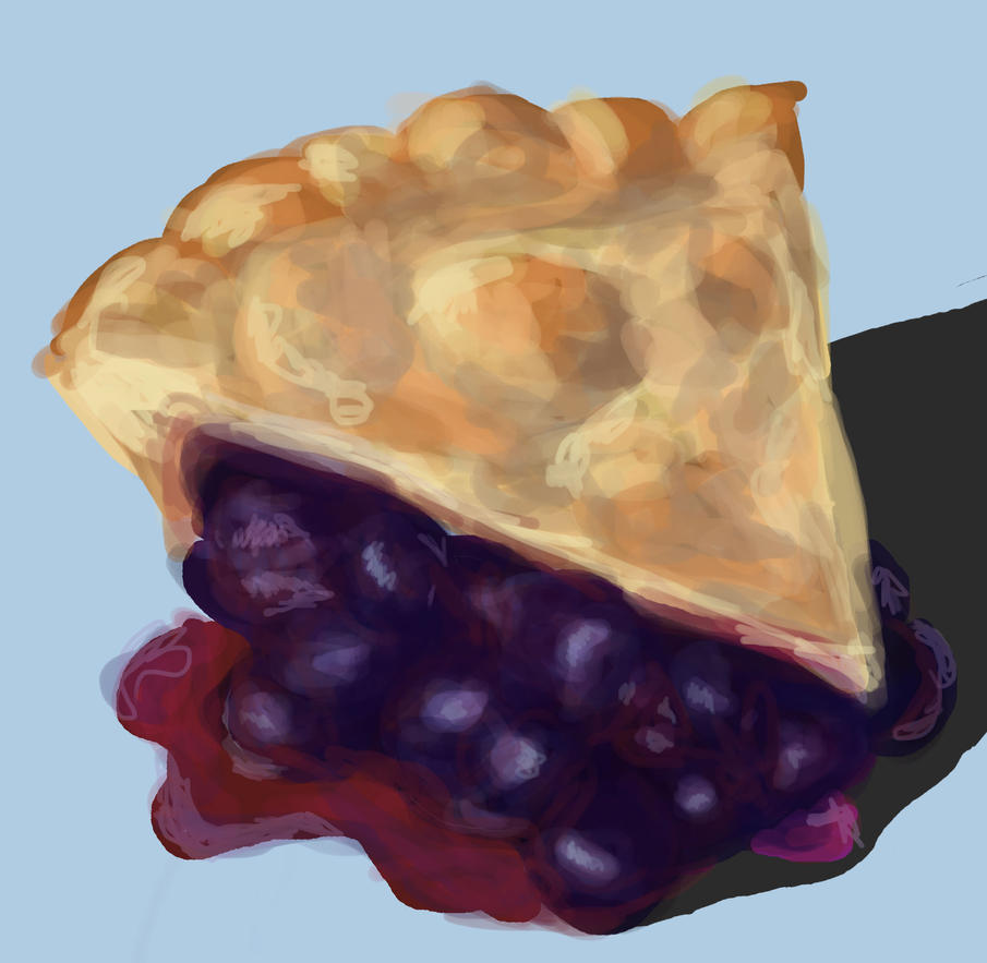 Blueberry Pie by Magpies12
