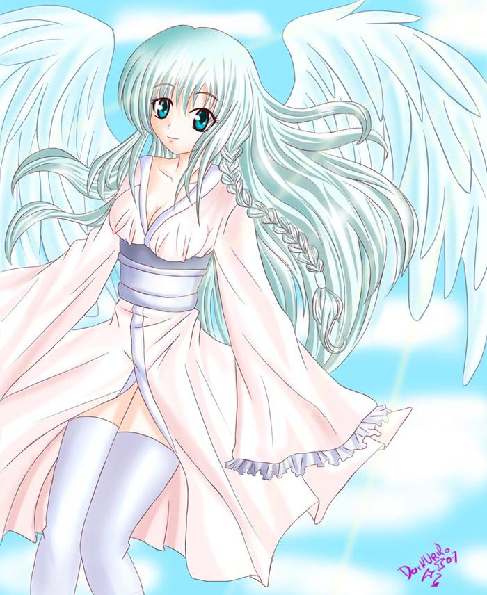 Angel Shine by darkuriko