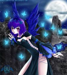 Night Butterflies by darkuriko