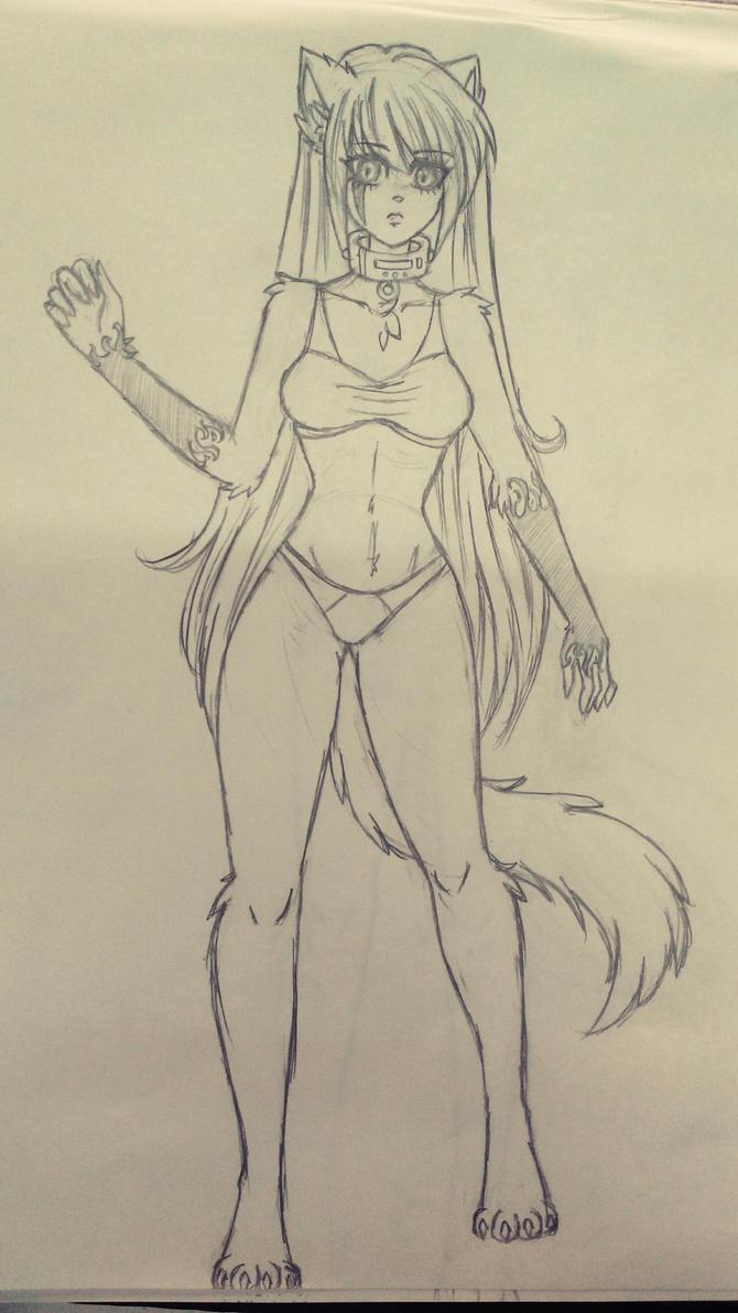 Atary sketch  by darkuriko