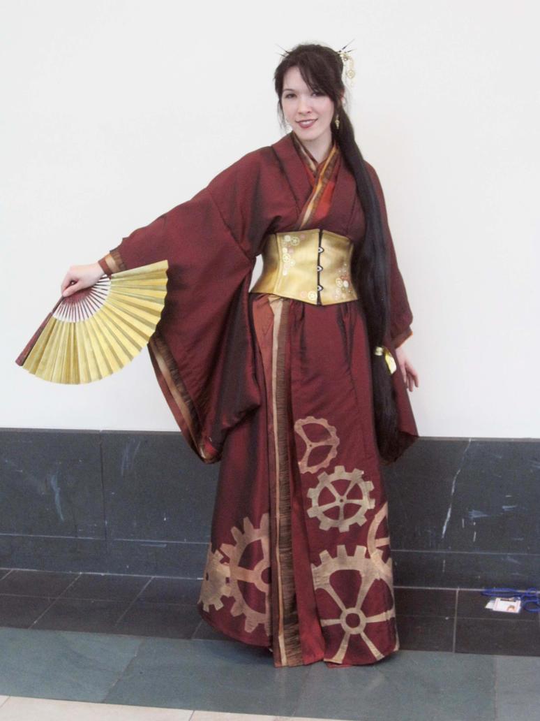 Steampunk Kimono By Tanya2s On Deviantart