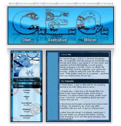 Myspace layout-CEO Geared