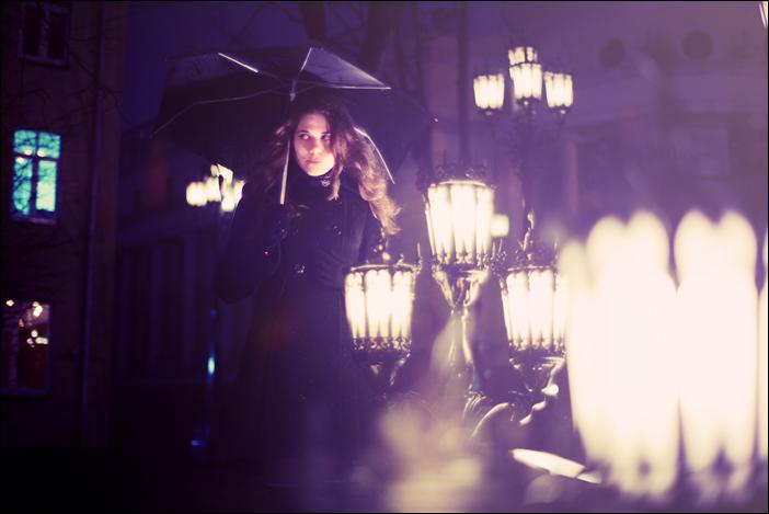 Rainy night by KARRR