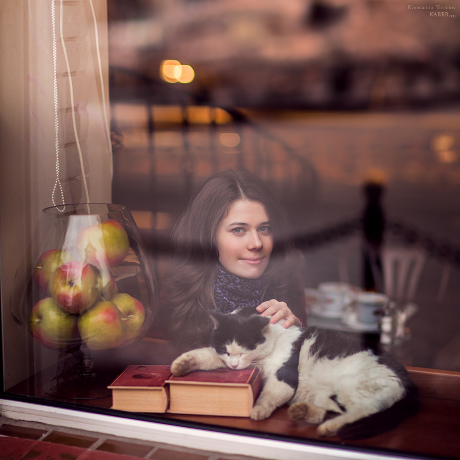 Cafe Cat by KARRR