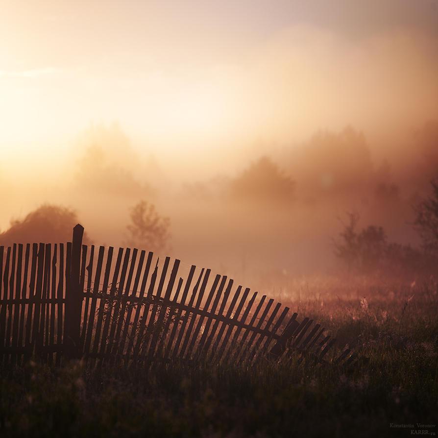 Old fence by KARRR