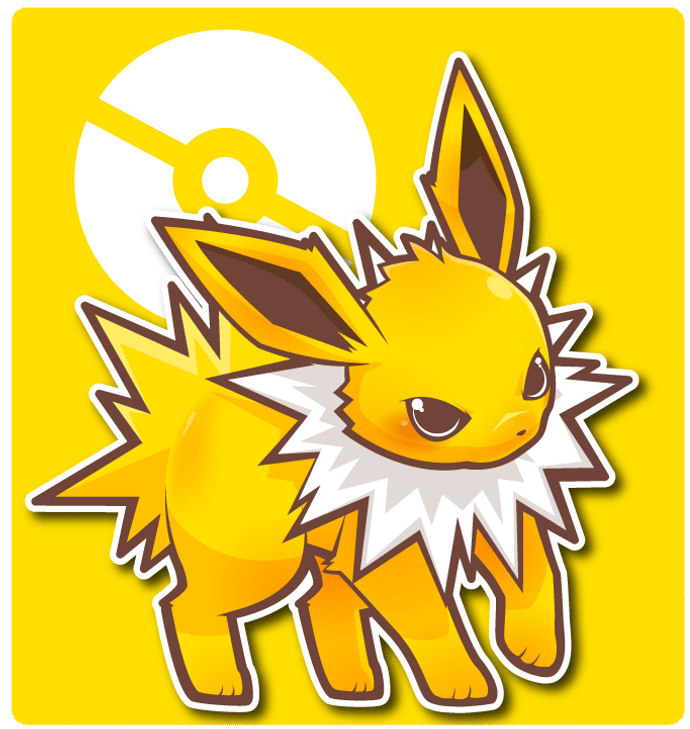 jolteon by apricolor on deviantart