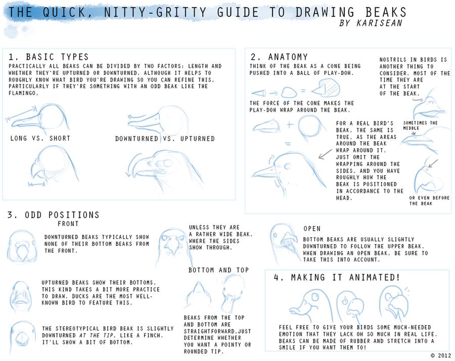 How To Draw BEAKS by Karisean on DeviantArt