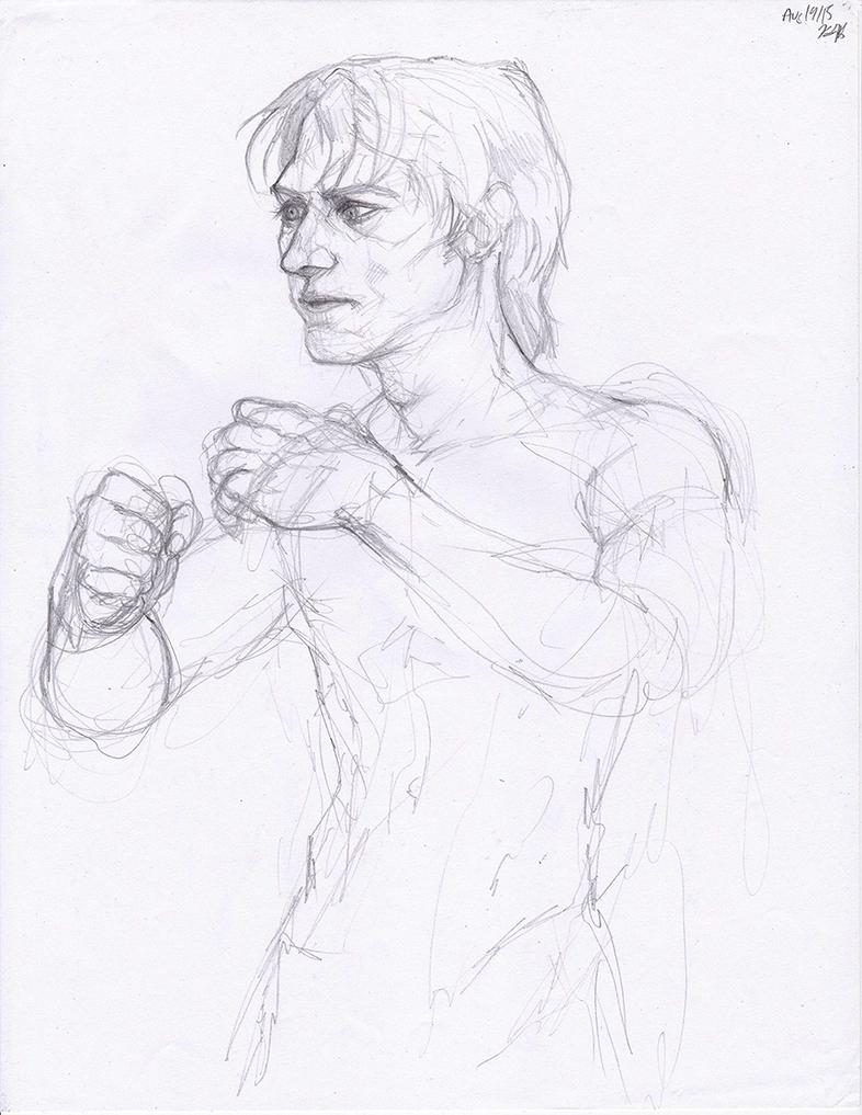 Tony Sketch by Karisean