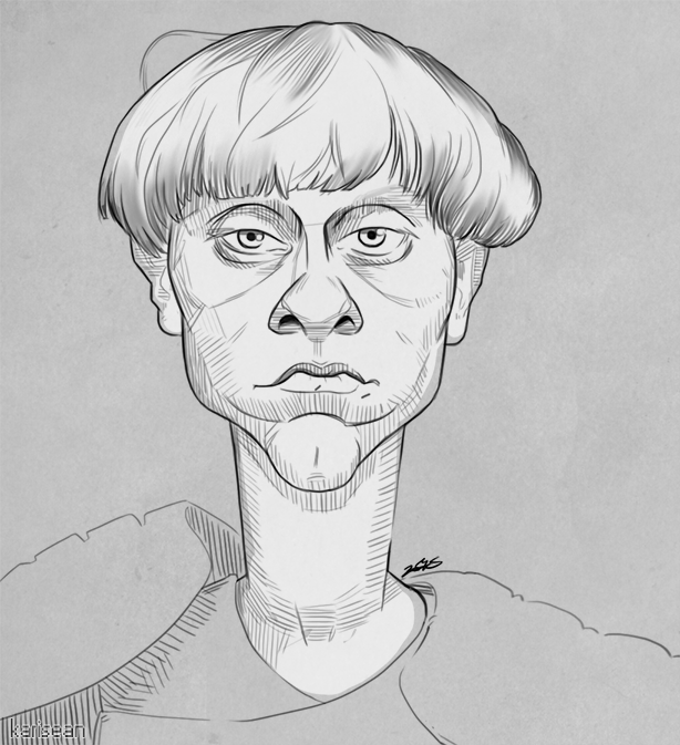 Dylann Roof Caricature by Karisean