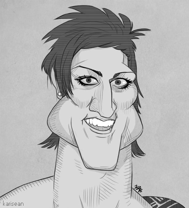 Zyzz Caricature By Karisean On Deviantart