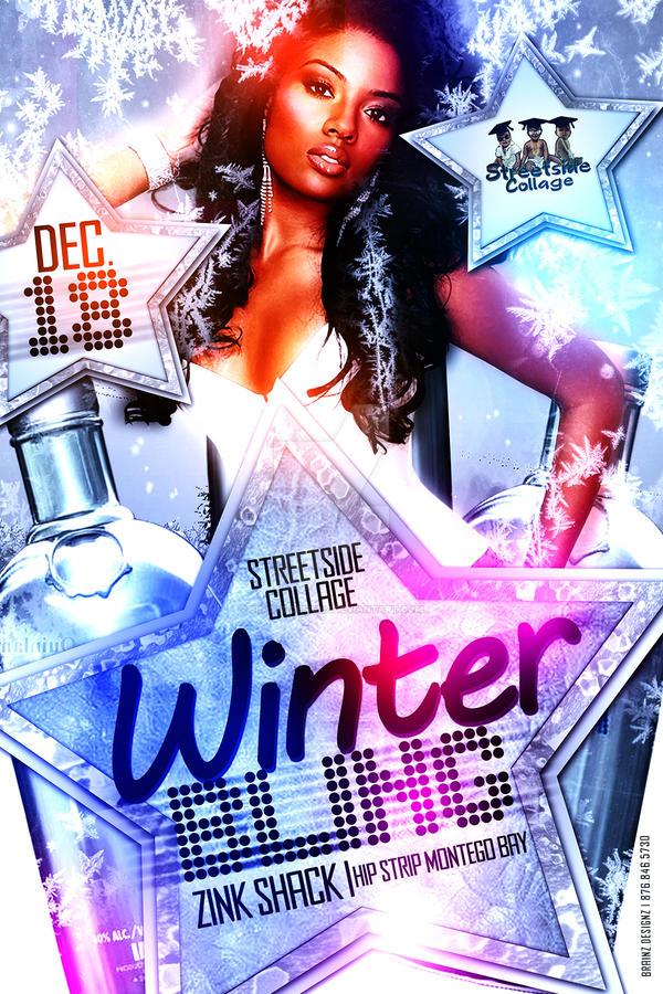 Winter Bling Flyer - Front