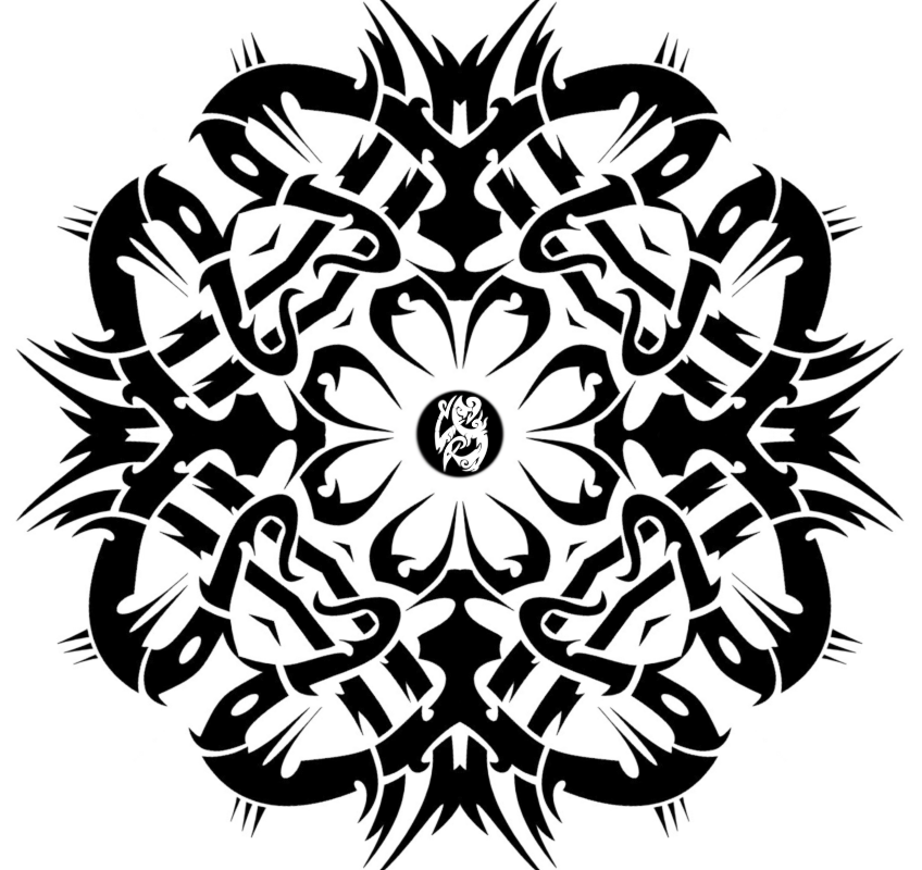 Tribal Flower By Rudybb On DeviantArt