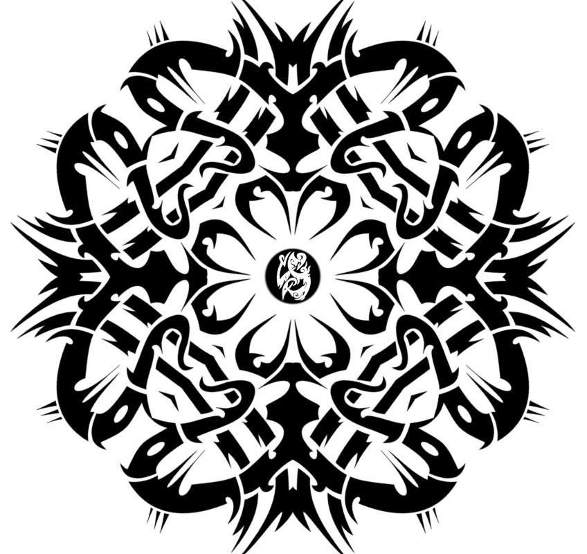 flower tribal png images galleries with a bite. Black Bedroom Furniture Sets. Home Design Ideas