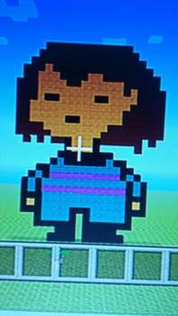 Frisk Pixel Art