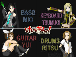 Vocaloid K-on by shaoron