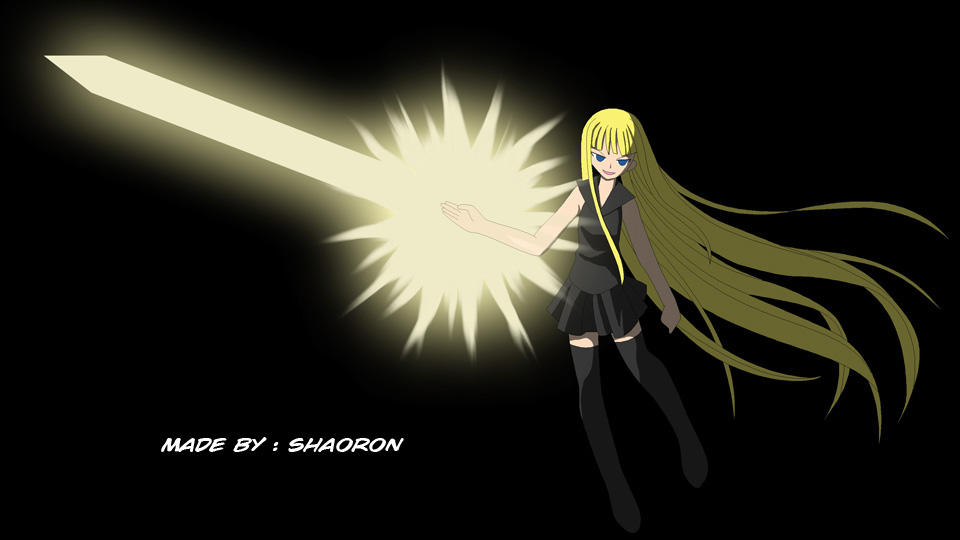 Eva's Magic Blade by shaoron