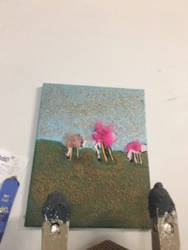 An Flamingo Painting by smileypenguin98
