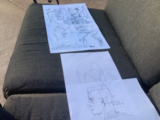 Figure drawing-Marvel characters by smileypenguin98