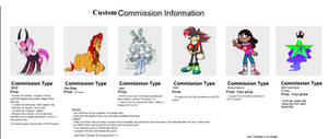 Custom Commission Sheet!! {CLOSED!!}