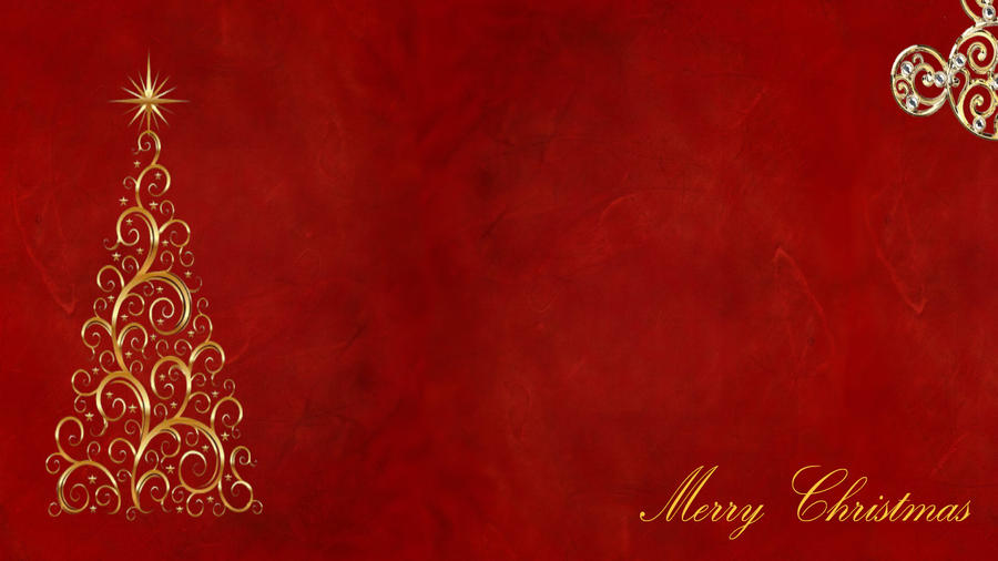 Red and Gold Christmas Background by acrose on DeviantArt
