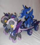 Princess Luna and her chariot.