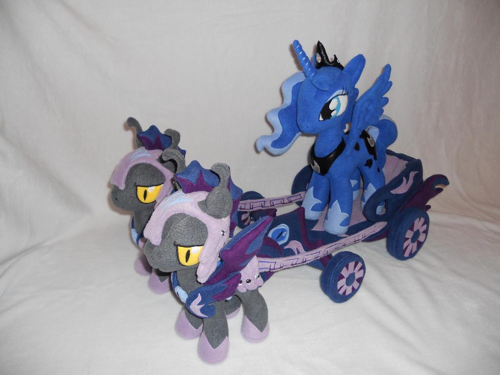 Princess Luna Chariot by agatrix